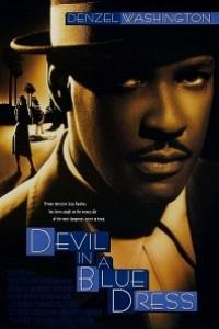 Caratula, cartel, poster o portada de El demonio vestido de azul