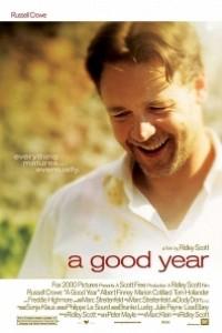 Caratula, cartel, poster o portada de Un buen año