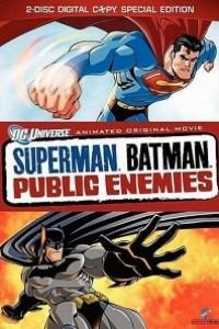 Caratula, cartel, poster o portada de Superman y Batman: Enemigos públicos
