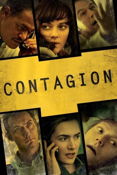Caratula, cartel, poster o portada de Contagio