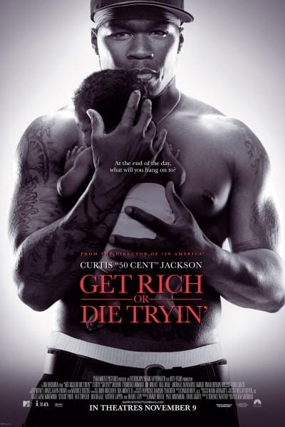 Caratula, cartel, poster o portada de Get Rich Or Die Tryin\'