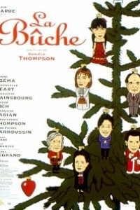 Caratula, cartel, poster o portada de La bûche, cena de Navidad