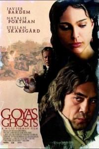 Caratula, cartel, poster o portada de Los fantasmas de Goya