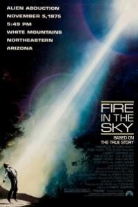 Caratula, cartel, poster o portada de Fuego en el cielo