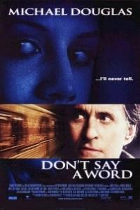 Caratula, cartel, poster o portada de Ni una palabra