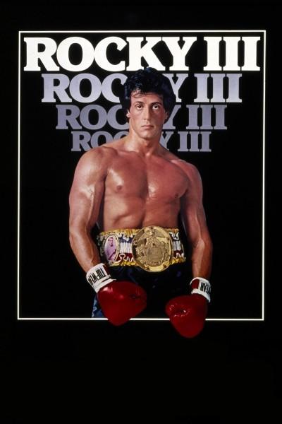 Caratula, cartel, poster o portada de Rocky III