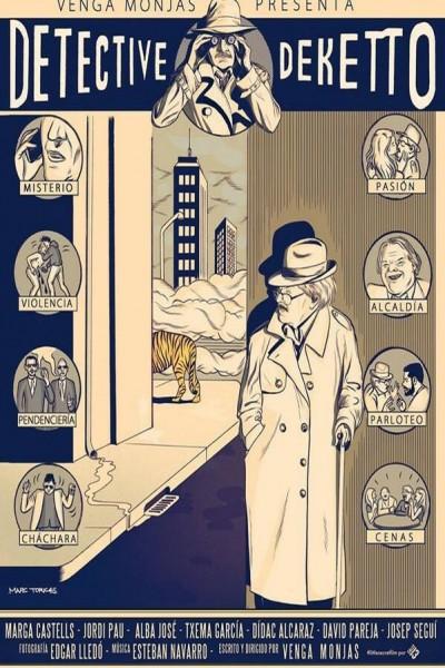 Caratula, cartel, poster o portada de Detective Deketto