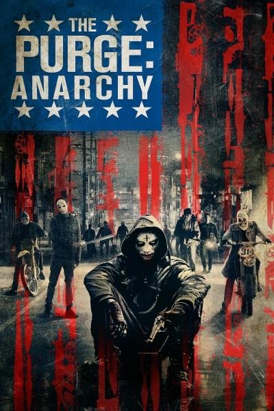 Caratula, cartel, poster o portada de Anarchy: La noche de las bestias