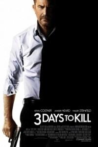 Caratula, cartel, poster o portada de 3 días para matar
