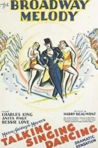 Caratula, cartel, poster o portada de La melodía de Broadway