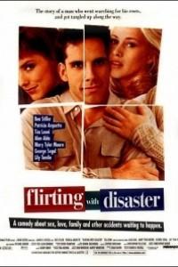 Caratula, cartel, poster o portada de Flirteando con el desastre
