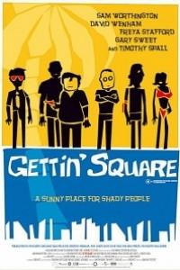 Caratula, cartel, poster o portada de El desquite (Gettin\' Square)