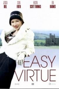 Caratula, cartel, poster o portada de Una familia con clase (Easy Virtue)