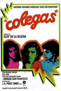 Caratula, cartel, poster o portada de Colegas