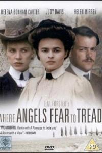 Caratula, cartel, poster o portada de Donde los ángeles no se aventuran