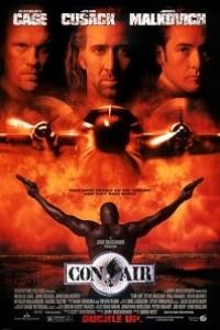 Caratula, cartel, poster o portada de Con Air (Convictos en el aire)