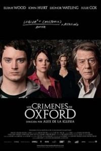 Caratula, cartel, poster o portada de Los crímenes de Oxford
