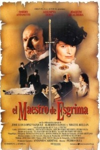 Caratula, cartel, poster o portada de El maestro de esgrima