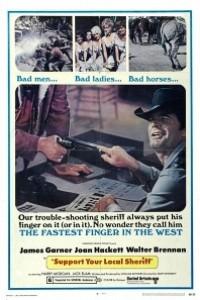 Caratula, cartel, poster o portada de También un sheriff necesita ayuda