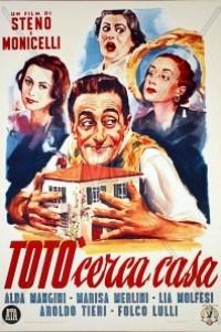 Caratula, cartel, poster o portada de Totò busca piso
