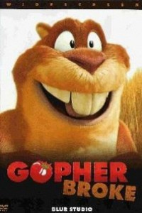 Caratula, cartel, poster o portada de Gopher Broke