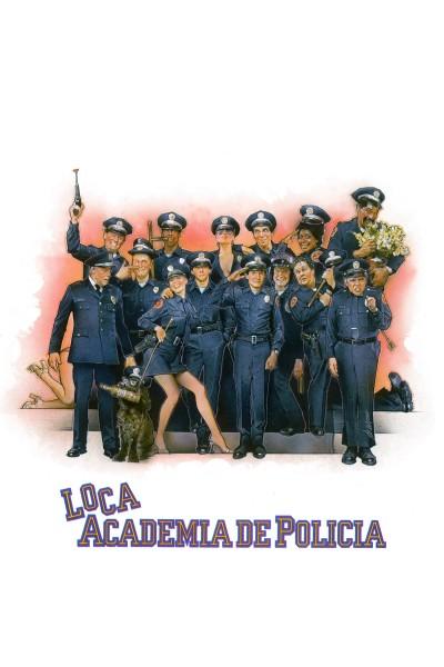 Caratula, cartel, poster o portada de Loca academia de policía