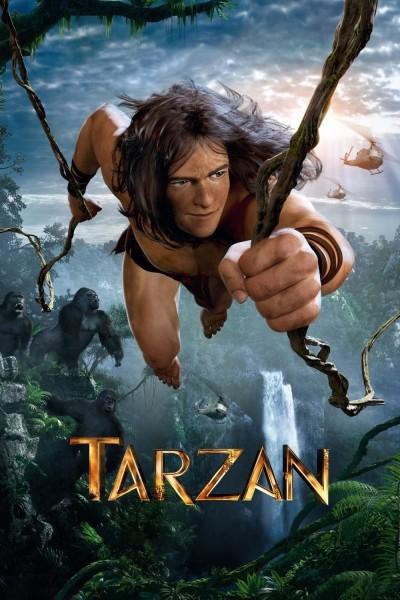 Caratula, cartel, poster o portada de Tarzán