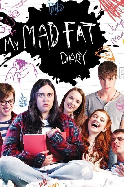 Caratula, cartel, poster o portada de My Mad Fat Diary