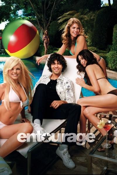 Caratula, cartel, poster o portada de Entourage: El séquito
