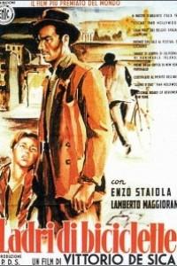 Caratula, cartel, poster o portada de Ladrón de bicicletas