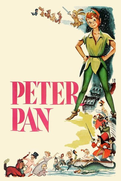 Caratula, cartel, poster o portada de Peter Pan