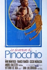 Caratula, cartel, poster o portada de Las aventuras de Pinocho