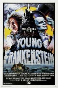 Caratula, cartel, poster o portada de El jovencito Frankenstein