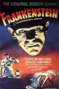 Caratula, cartel, poster o portada de El doctor Frankenstein