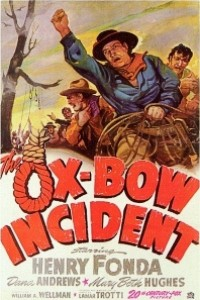 Caratula, cartel, poster o portada de Incidente en Ox-Bow