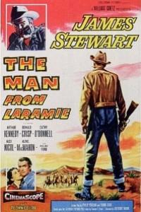 Caratula, cartel, poster o portada de El hombre de Laramie