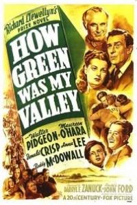 Caratula, cartel, poster o portada de ¡Qué verde era mi valle!