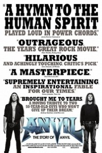 Caratula, cartel, poster o portada de Anvil - El sueño de una banda de rock