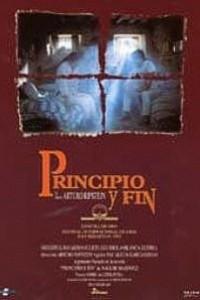 Caratula, cartel, poster o portada de Principio y fin