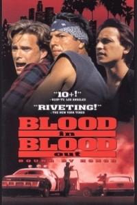 Caratula, cartel, poster o portada de Sangre por sangre