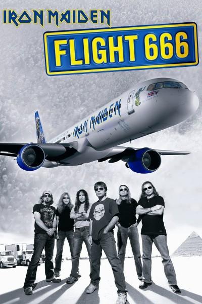 Caratula, cartel, poster o portada de Flight 666: La película