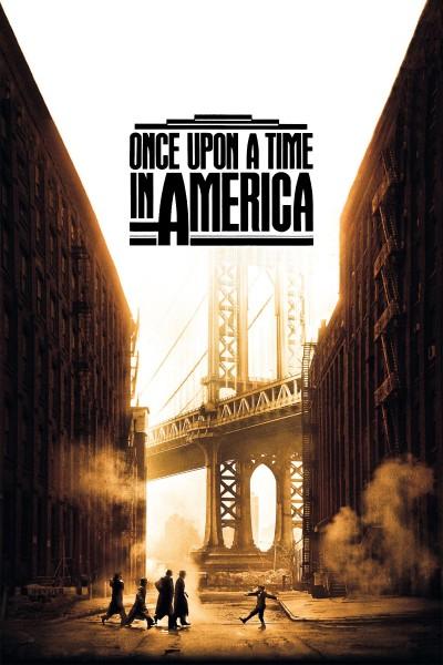 Caratula, cartel, poster o portada de Érase una vez en América