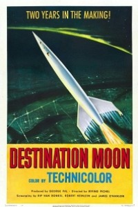 Caratula, cartel, poster o portada de Con destino a la luna