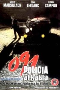 Caratula, cartel, poster o portada de 091, policía al habla