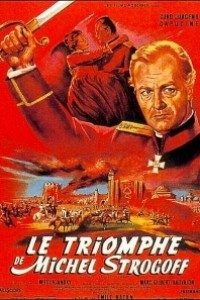 Caratula, cartel, poster o portada de El triunfo de Miguel Strogoff