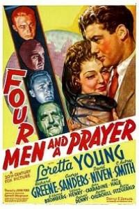 Caratula, cartel, poster o portada de Cuatro hombres y una plegaria