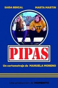 Caratula, cartel, poster o portada de Pipas