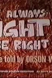 Caratula, cartel, poster o portada de Is It Always Right to Be Right?