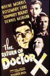 Caratula, cartel, poster o portada de El regreso del Doctor X