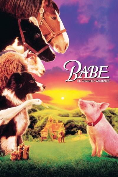 Caratula, cartel, poster o portada de Babe, el cerdito valiente